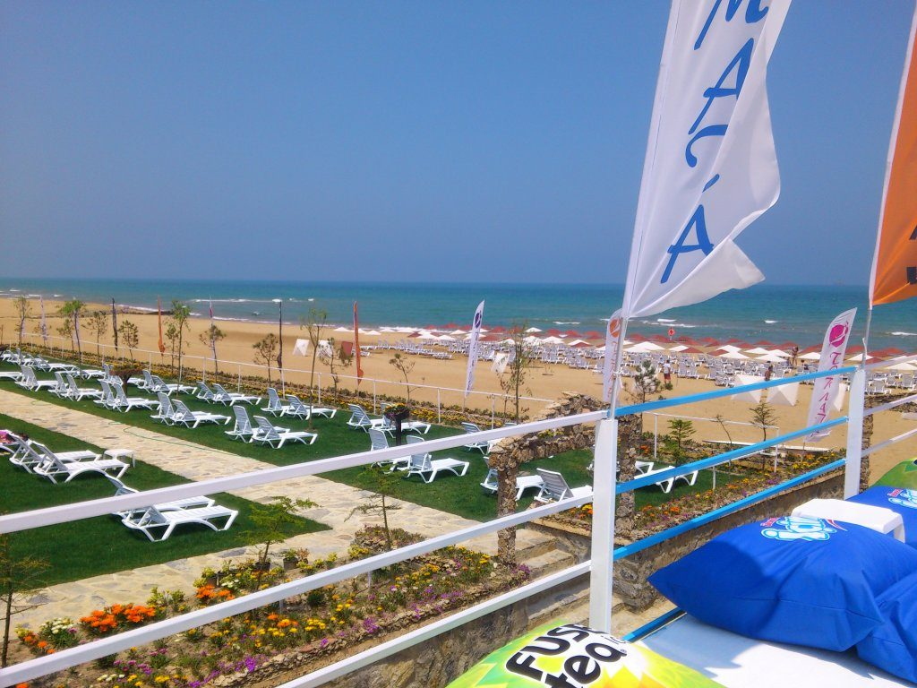 Пляжный клуб Тырмата | Tırmata Beach Club