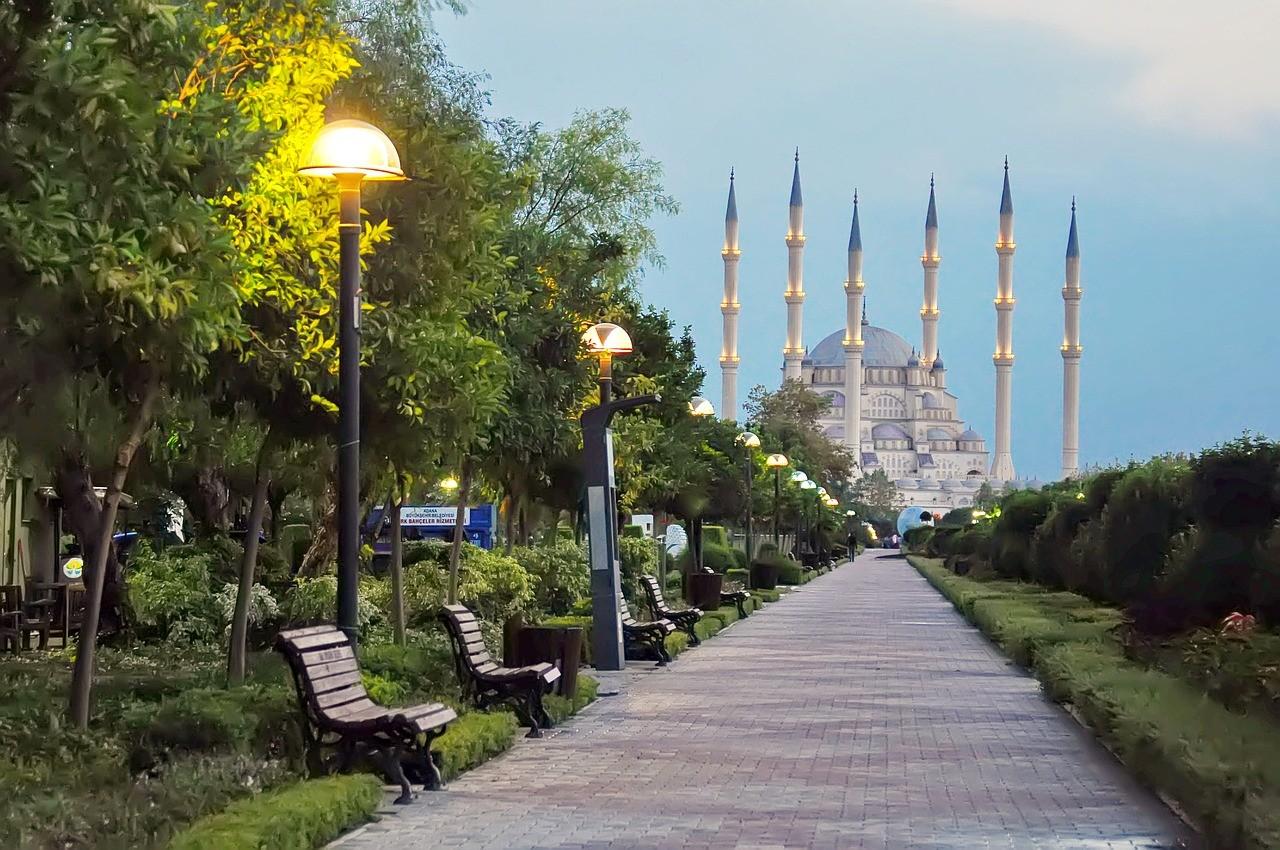 Города Турции. Адана