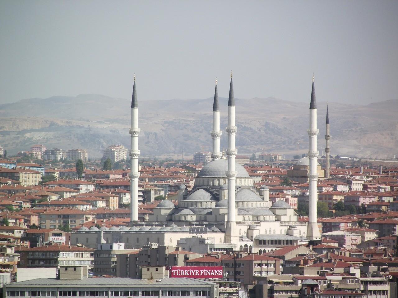 Города Турции. Анкара