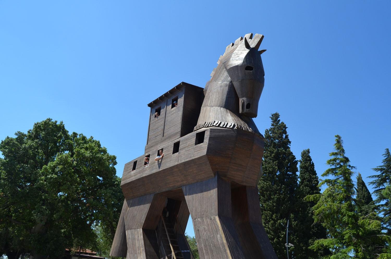 Троянский конь. Чанаккале Турция