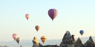 полеты на воздушных шарах в турции