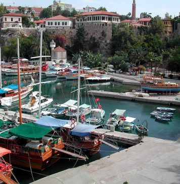 Города Турции. Анталья