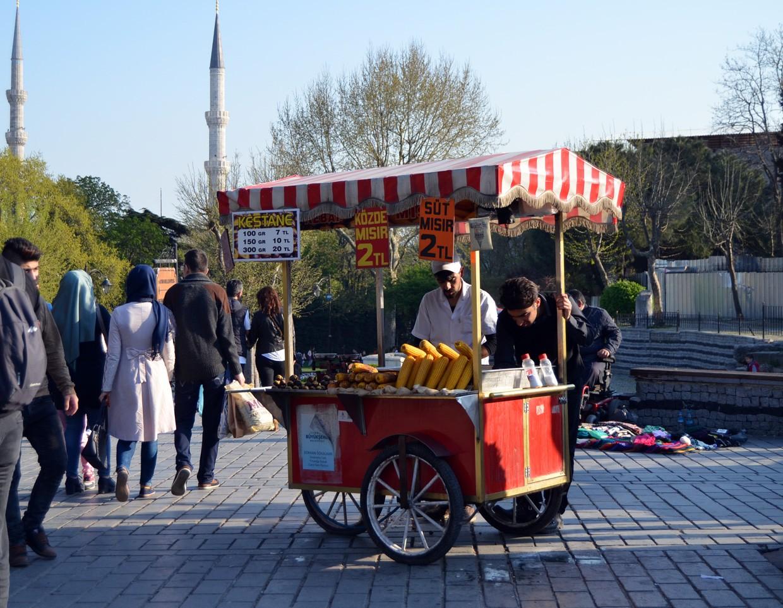 уличная еда в турции
