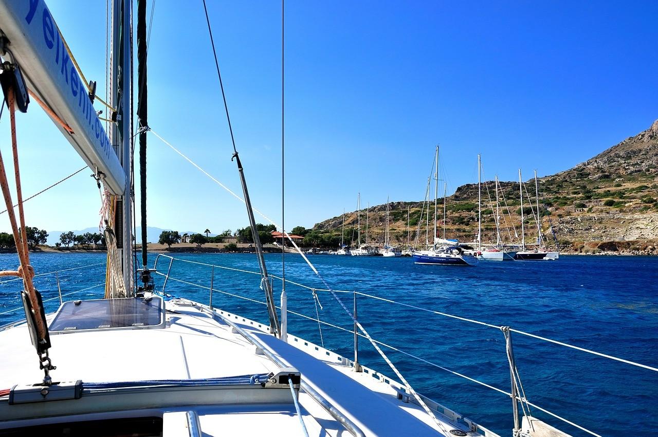 прогулка на яхте в турции