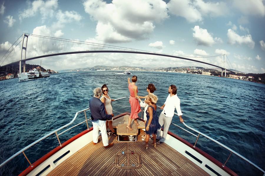 Круиз по Босфору. Лето в Стамбуле