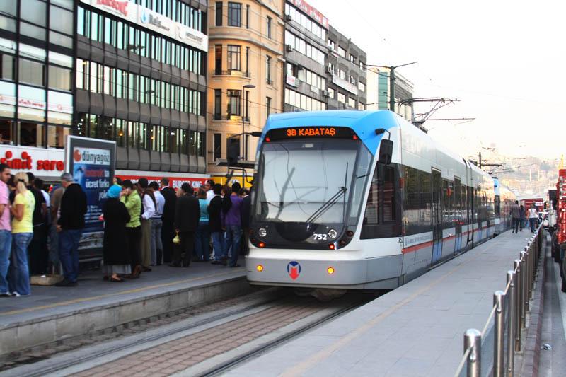Транспорт в Стамбуле. Трамвай