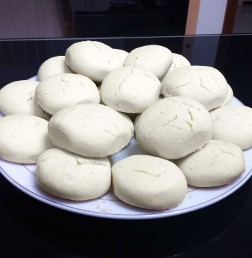 турецкое печенье Нишасталы курабье