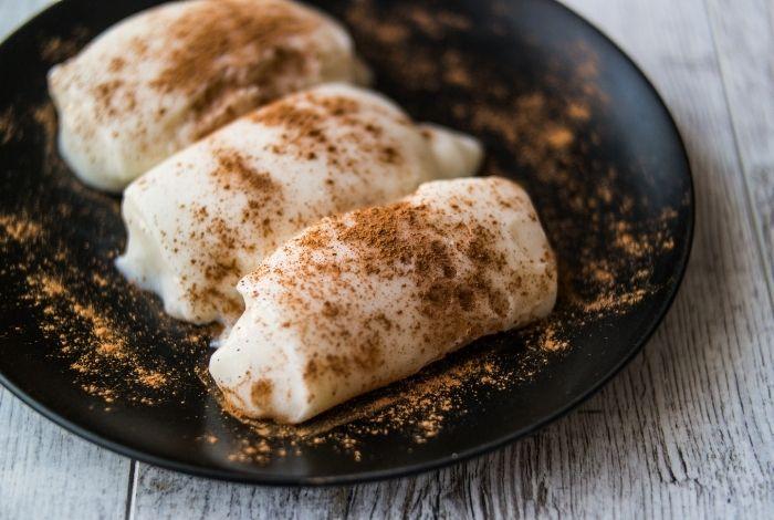 Турецкие сладости и десерты Тавук Гексу