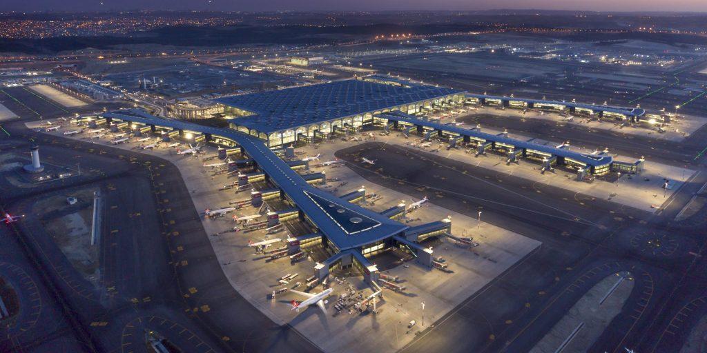 Новый аэропорт Стамбула - самый большой в мире.