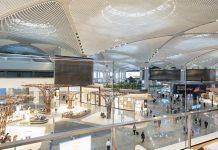 Современный дизайн аэропорта Стамбула